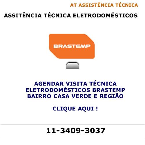 Agendar visita técnica Brastemp Casa Verde