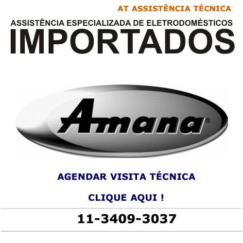 Agendar visita técnica Amana