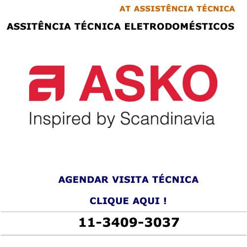 Agendar visita técnica para eletrodomésticos Asko