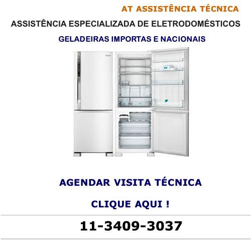 Agendar visita técnica geladeiras