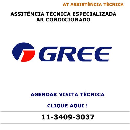 Agendar visita técnica para ar condicionado Gree