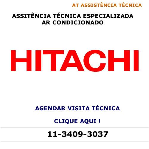 Agendar visita técnica Hitachi