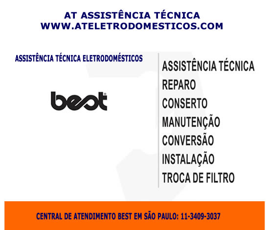 Assistência técnica eletrodomésticos Best