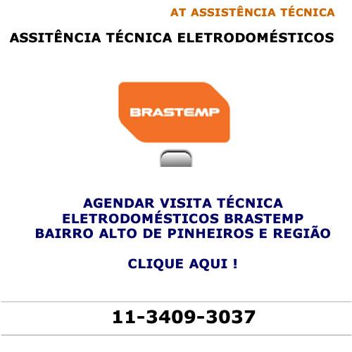 Agendar visita técnica Brastemp Alto de Pinheiros
