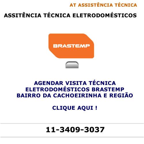 Agendar visita técnica Brastemp Cachoeirinha