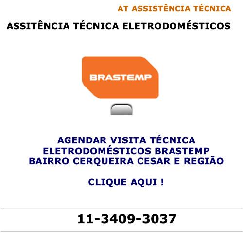 Agendar visita técnica Brastemp Cerqueira Cesar