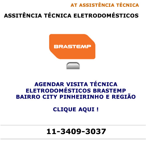 Agendar visita técnica Brastemp City Pinheirinho