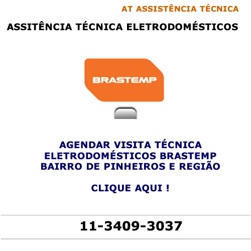 Agendar visita técnica Brastemp Pinheiros