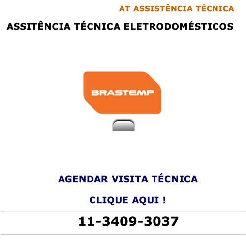 Agendar visita técnica Brastemp