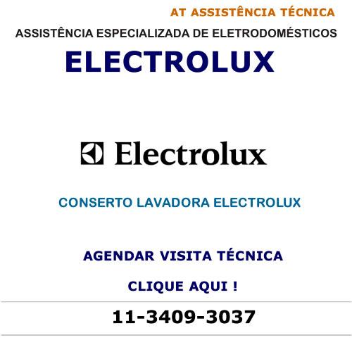 Agendar visita técnica para conserto lavadora Electrolux