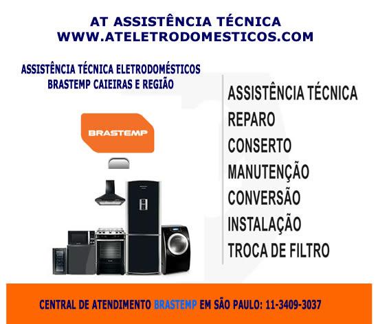 Assistência eletrodomésticos Brastemp Caieiras