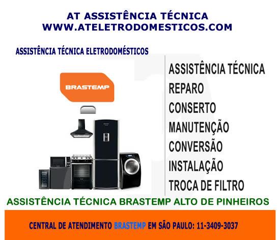 Assistência técnica Brastemp Avenida Paulista